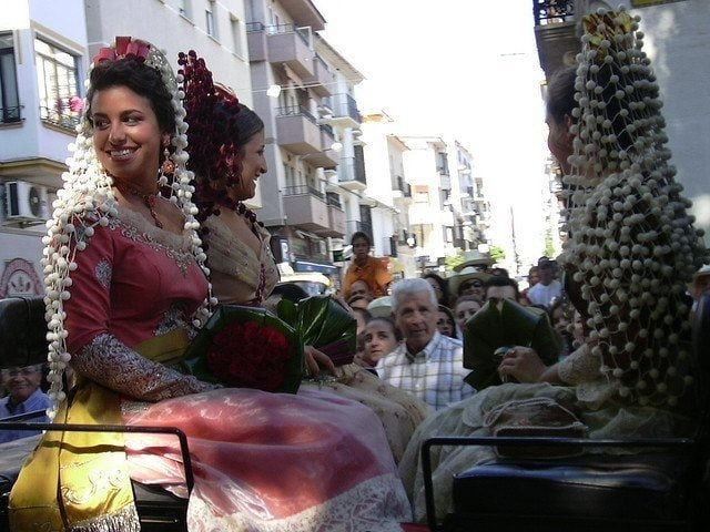 One of the best things to do in Malaga in September is go to a festival. The Feria Goyesca happens every September in Ronda (Malaga) and is well worth the road trip!