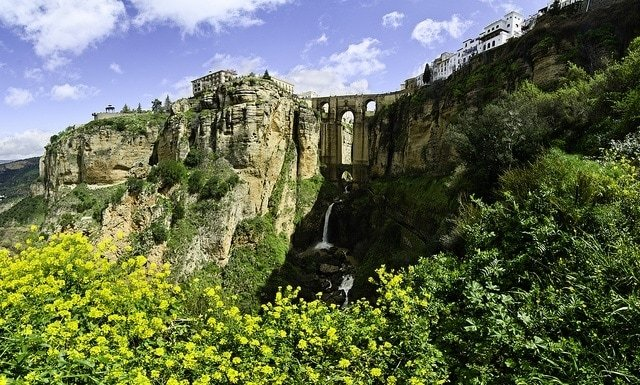 Ronda is another one of the white villages in Malaga that we highly recommend. With the beautiful gorge and impressive bridge, it's not surprising that Ronda is the third most visited place in Andalucia!