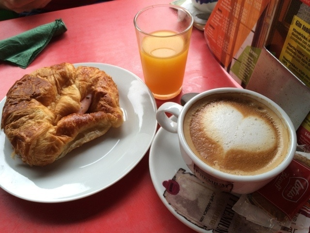 Café con Libros is a great café with free wifi in Malaga. We love coming for brunch on Sundays!