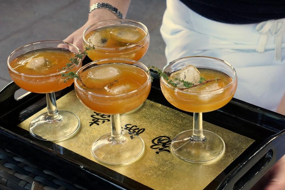 Tea Thyme cocktail recipe