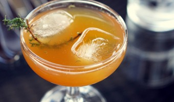Tea Thyme cocktail recipe