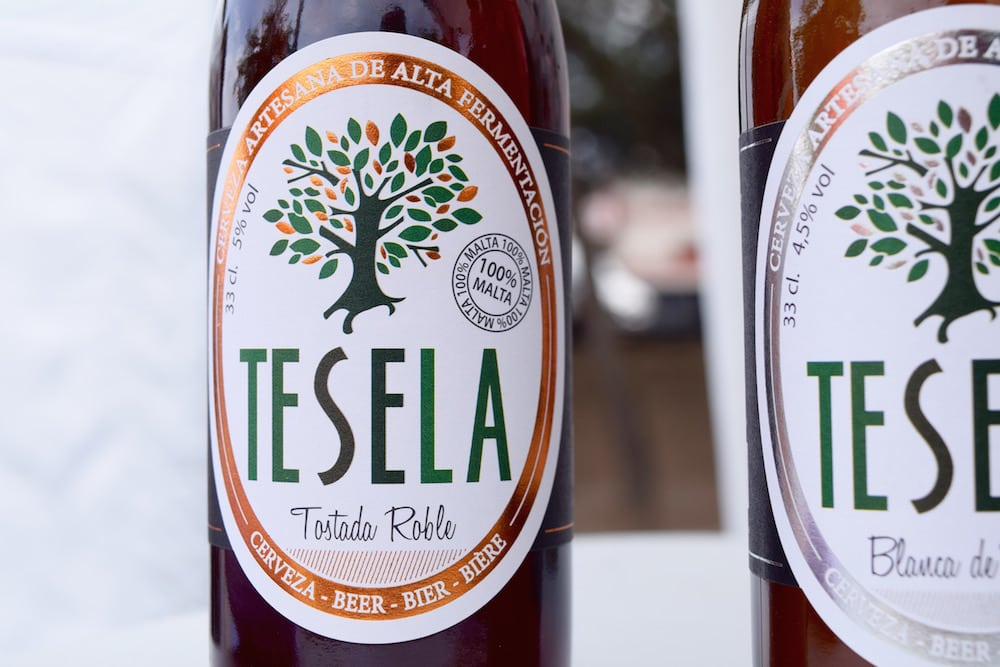 The craft beer scene in Spain has boomed in recent years. Tesela, a brewery near Madrid, is one of our faves!