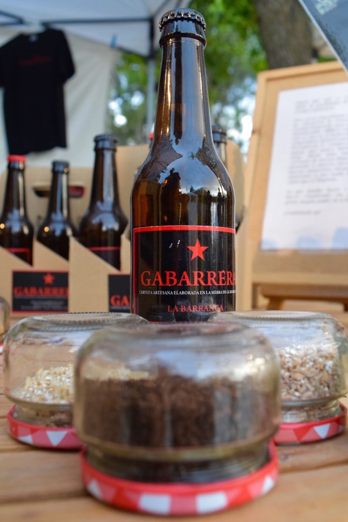 Toasted wheat, hops and malts are create the magic behind many craft beers in Spain, like this dark wheat beer from the Gabarrera brewery in Madrid.