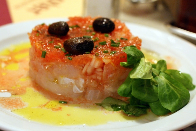 Esqueixada, typical Catalan food
