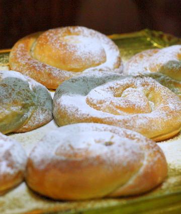 Ensaimadas, typical Catalan breakfast