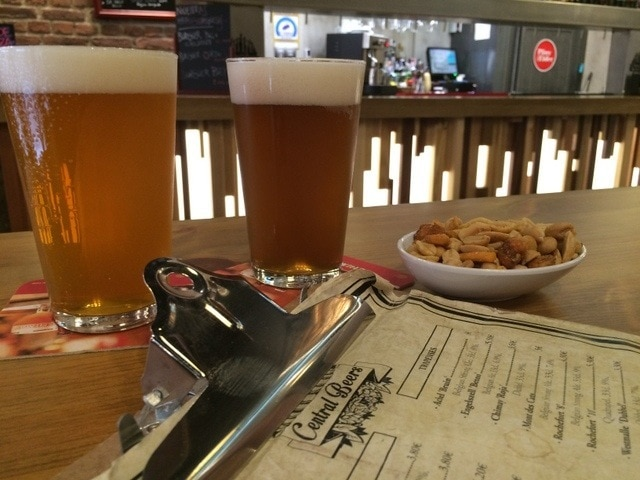 One of our favorite places to drink craft beer in Malaga is the polished Central Beers in the center of Malaga