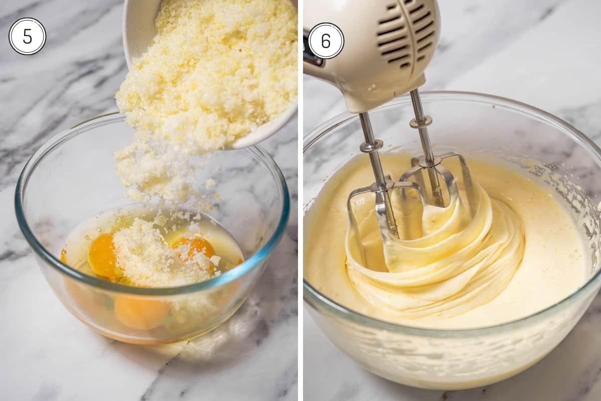 Steps 5-5 of lemon olive oil cake