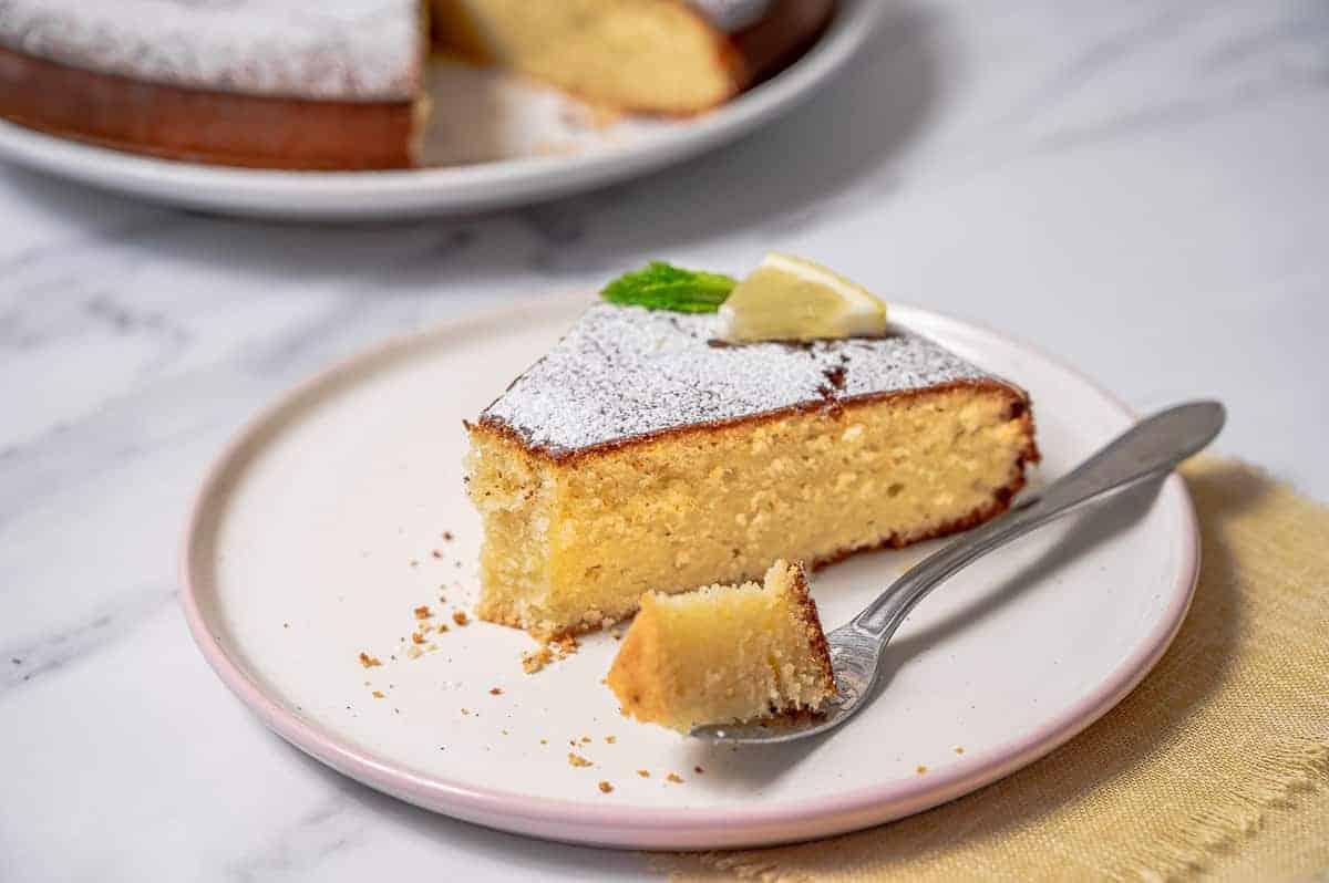 Best Lemon Olive Oil Cake