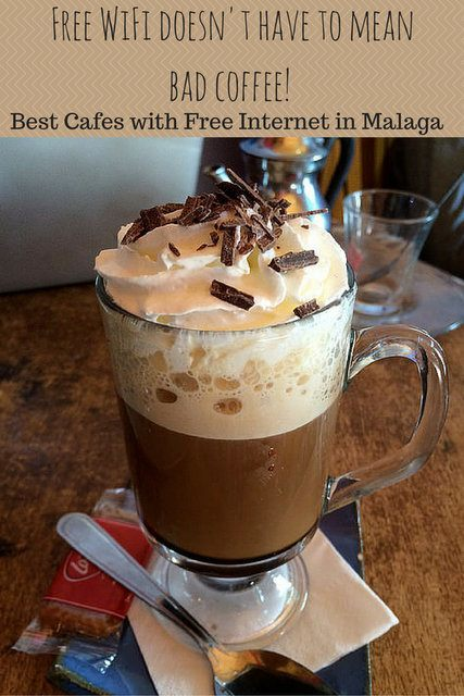 Sometimes it's hard to find a place that offers good coffee and free internet! In Malaga we have a couple favorite places to check email and get some work done! Here are our top five cafes with free wifi