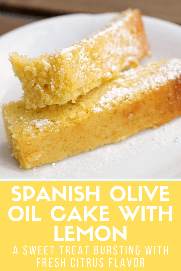 No matter how many tapas you eat, be sure to save room for one of the most delicious and authentic Spanish desserts! Today, I'll show you how to make my typical Spanish olive oil cake with lemon and almonds. This recipe is super easy, and makes the perfect finale to any meal (or a sweet treat at any time of day)! #Spain #dessert