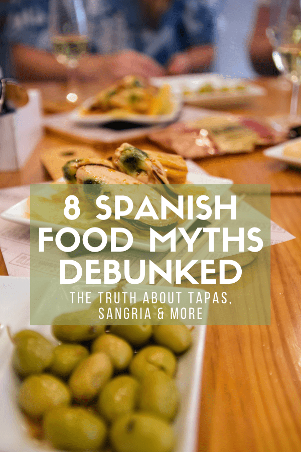 Traditional, authentic Spanish food is often quite simple. It can consist of favorites like paella and tapas, but there's also plenty of meat, veggies, and olive oil to go around (this is the Mediterranean diet, after all!). But over the years, a few Spanish food myths have become prevalent internationally, and we're here to debunk them.