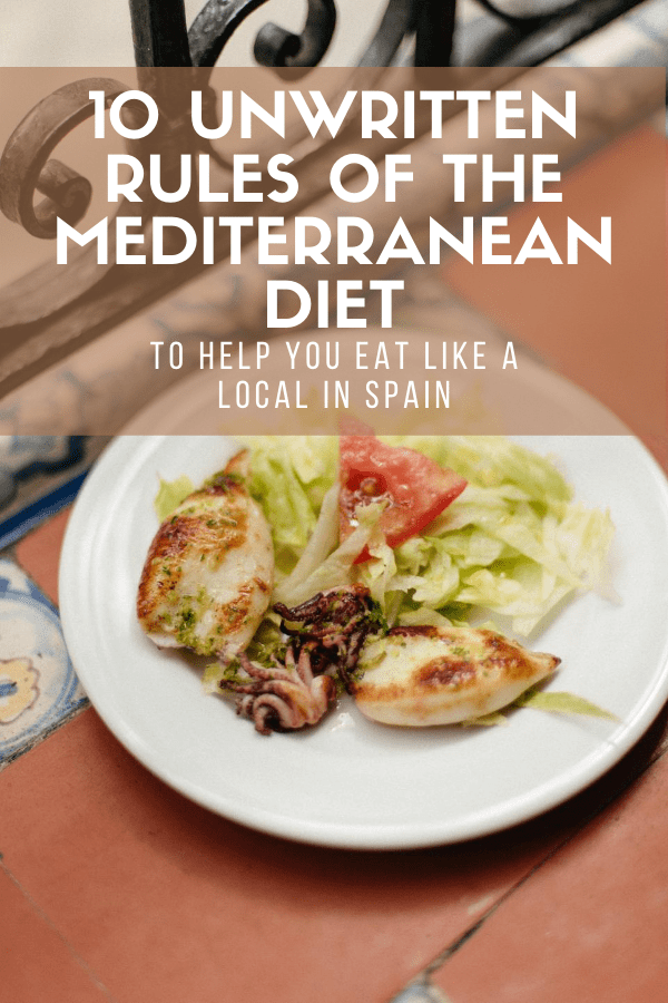 Traditional Spanish food falls perfectly in line with the Mediterranean diet. We love our olive oil, eat plenty of seafood and fresh veggies, and no meal is complete without a glass of red wine. Here, find my top tips for following the Mediterranean diet like we do here in Spain—it's an easy, healthy and delicious way to eat!