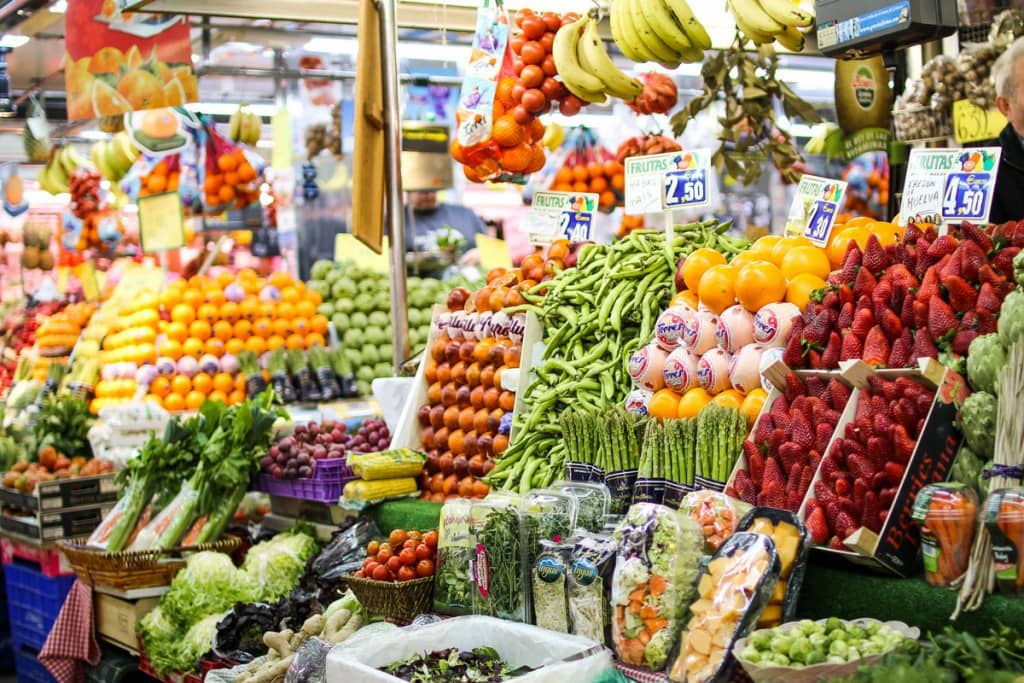 A market full of possibilities! for healthy Spanish recipes
