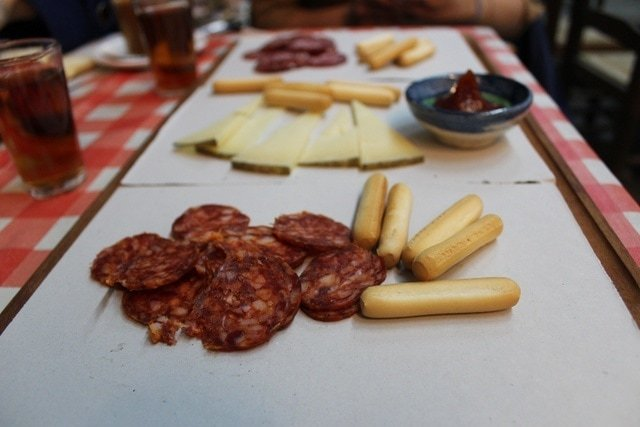 cured meats and sausages are often locally made and make for a delicious tapa in Malaga