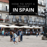 You might be a tourist in Spain if...