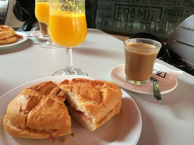 Brunch in Granada