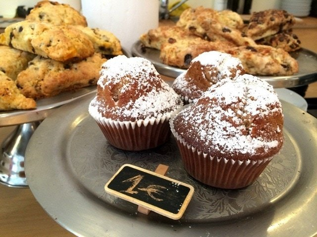Sweets at Julia Bakery, one of the best pastry shops in Malaga