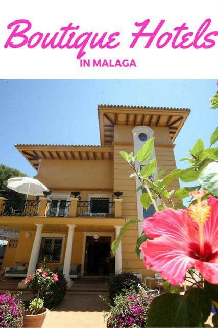 Best Boutique Hotels in Malaga