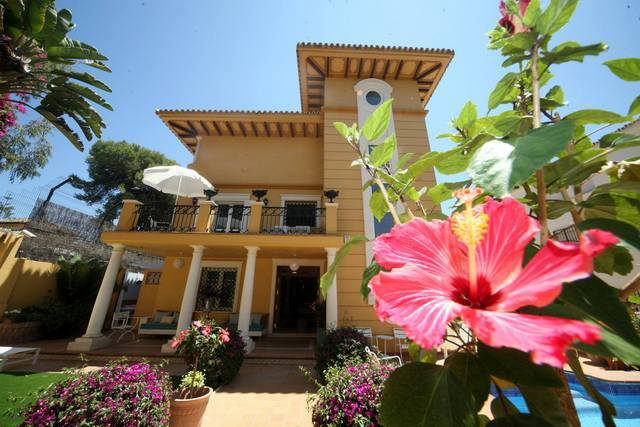 Villa Lorena, a lovely boutique hotel in Malaga
