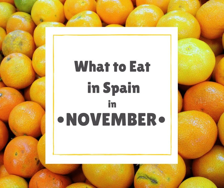 What's in season and what's in store for November in Spain