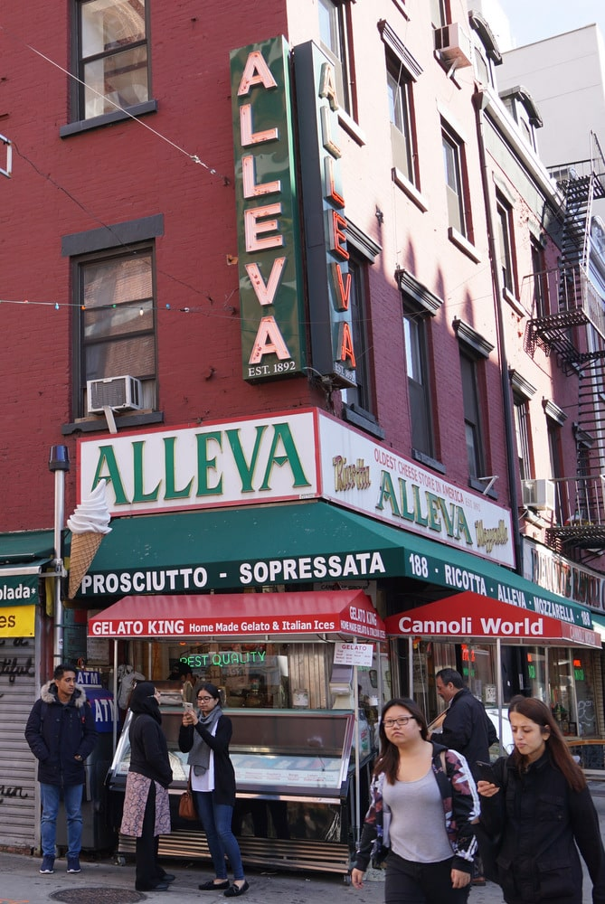 Alleva Dairy NYC food tour