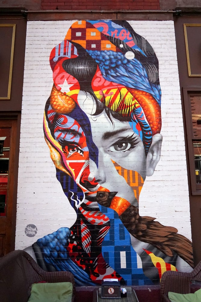 NYC street art.