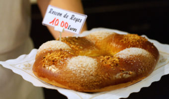 Celebrating Three Kings Day in Malaga wouldn't be complete without some traditional roscón de Reyes!