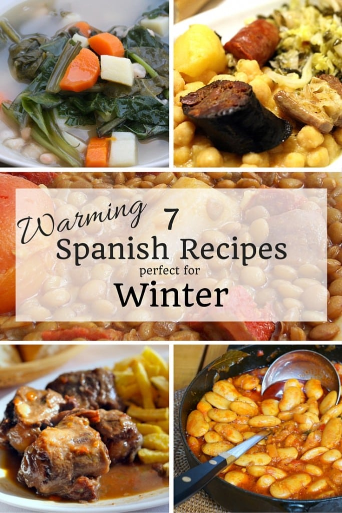 Soul warming soups, rich stews, hearty roasts...  these delicious Spanish recipes make the cold of winter worth it!