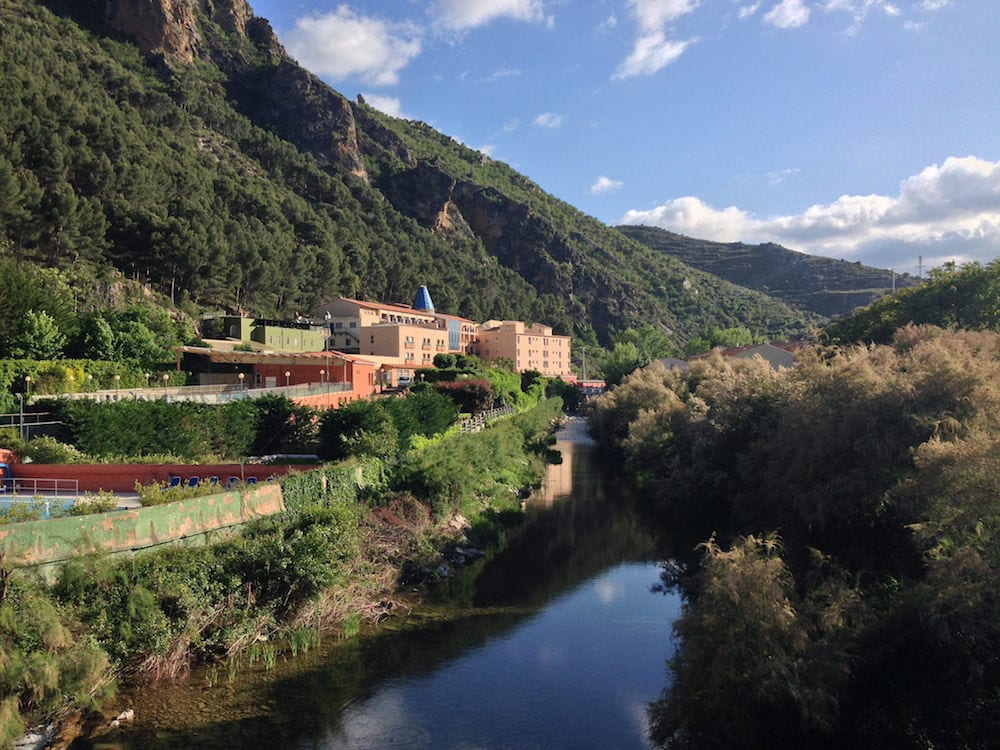 The Arnedillo thermal baths are some of the best hot springs in Spain!