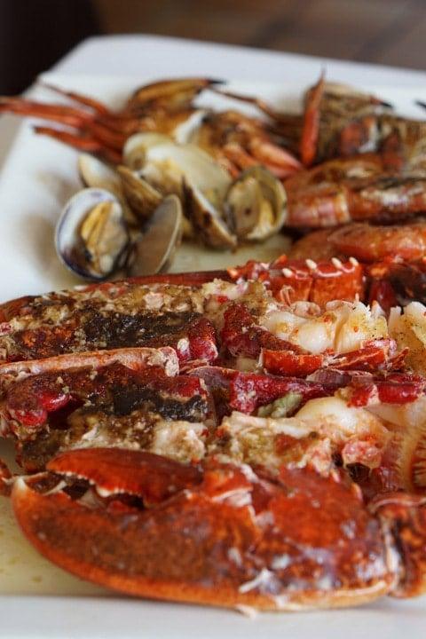 Shellfish in Asturias, Spanish lobster