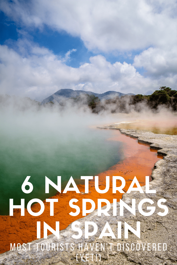 Want to take your travel itinerary to the next level? Head to one of these breathtaking natural hot springs in Spain. Not only are they absolutely beautiful—the stuff dreams are made of!—but many people don't even know they exist yet. Check out this guide for the full list of these must see places. #Spain #travel