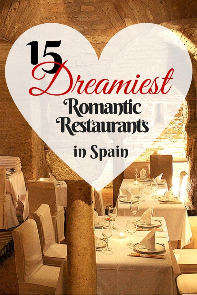 The language isn't the only romantic thing about being in Spain. This country has some incredible date spots, from seaside cliff restaurants to century-old Arabic caves!