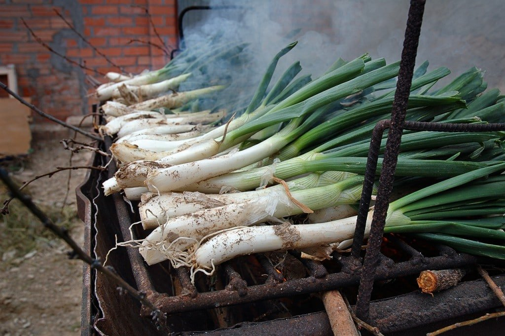 Definitely don't miss eating calcots in Spain in February!