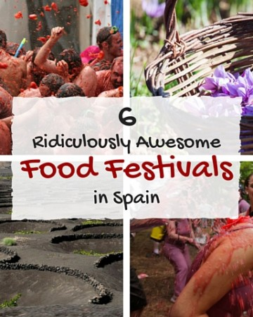Six ridiculously awesome food festivals in Spain
