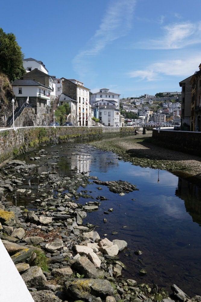 Luarca is one of the prettiest towns in Asturias, Spain.