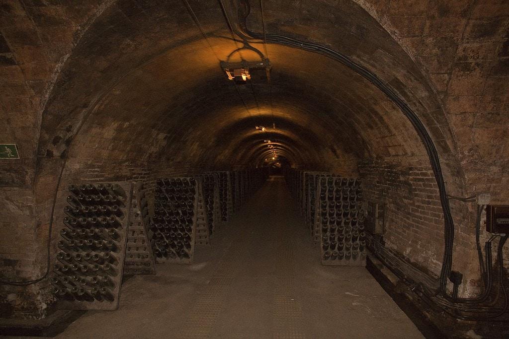 The incredible Codorniu cellars, the best wineries in Spain.