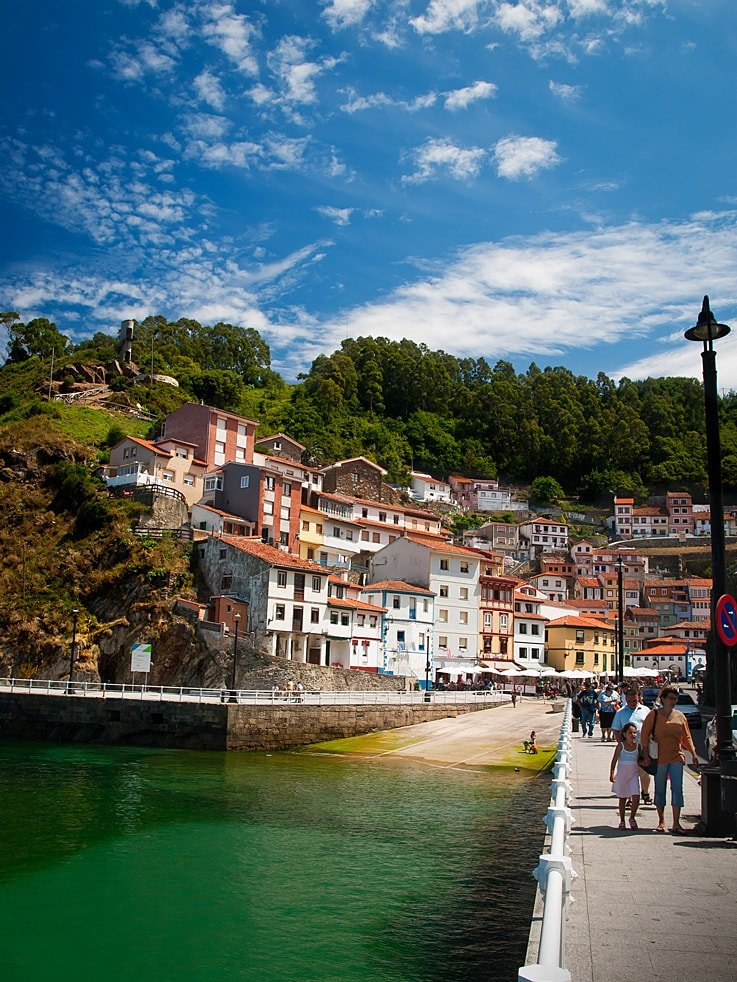 Cudillero is a beautiful fishing village in Asturias Spain. A must see when visiting Asturias!