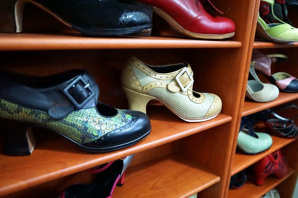 Flamenco tour in Madrid-- visiting a flamenco shoe maker!
