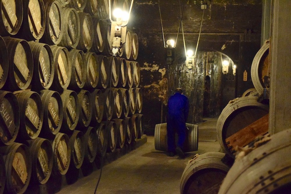 The R. Lopez de Heredia Viña Tondonia winery in La Rioja is one of the most traditional and stunning wineries in Spain