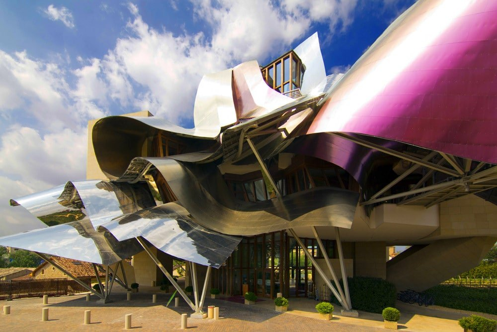 Amazing wineries in Spain: Marques de Riscal.
