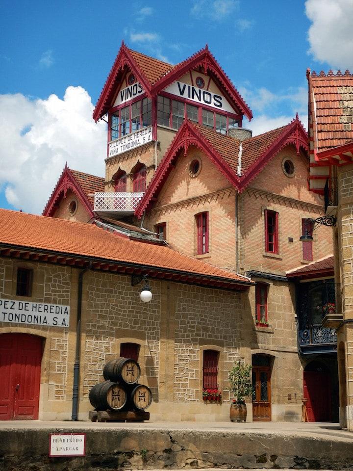 Beautiful Spanish wineries: Viña Tondonia-- no technology allowed!