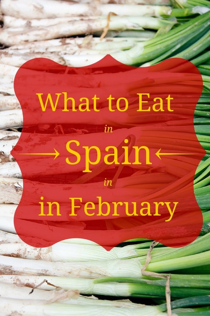 Here are the top foods to eat in Spain in February and the celebrations and fiestas that surround them.