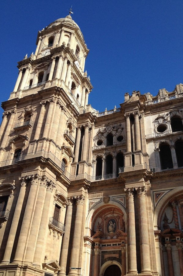 The Cathedral is one of the not to miss things to do in Malaga and at the top of the list in our ultimate travel guide to Malaga!