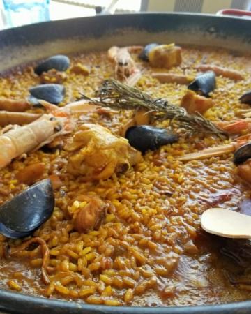 Best paella in Santiago de Compostela