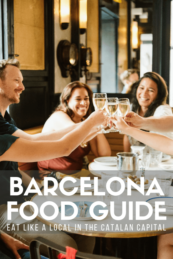 It probably comes as no surprise that one of the best things to do in Barcelona is eat! With everything from casual beach bars to modern tapas joints to world-class restaurants, it's a food lover's dream come true. This guide will show you exactly where to eat in Barcelona for everything from healthy vegetarian options to indulgent sweets. #Barcelona #foodie
