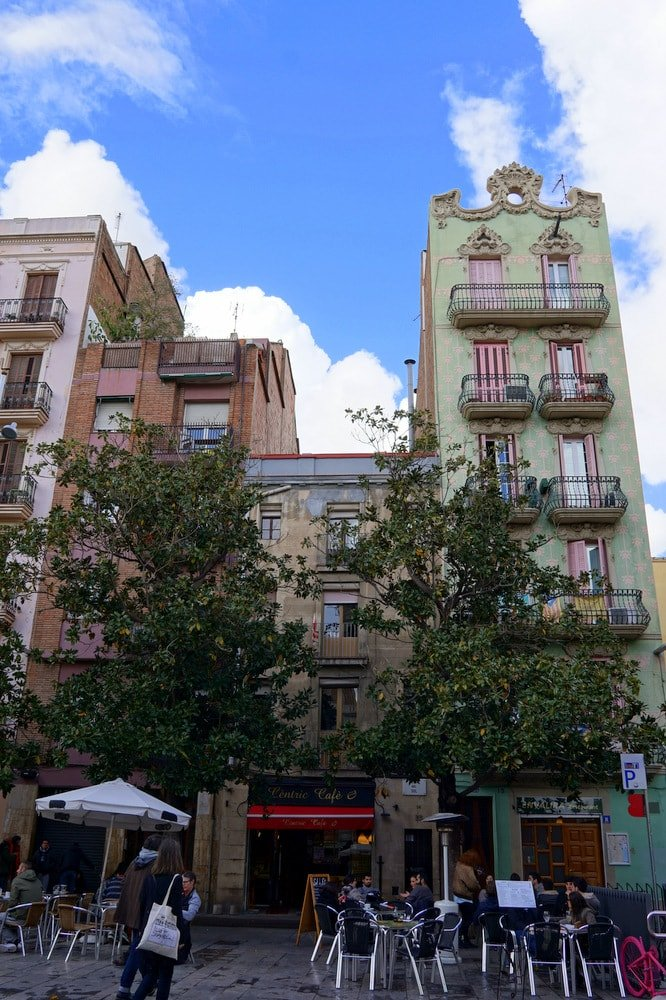 The beautiful Gracia neighborhood in Barcelona is the perfect place to stay! Check out my guide to eating and drinking in Barcelona for more!