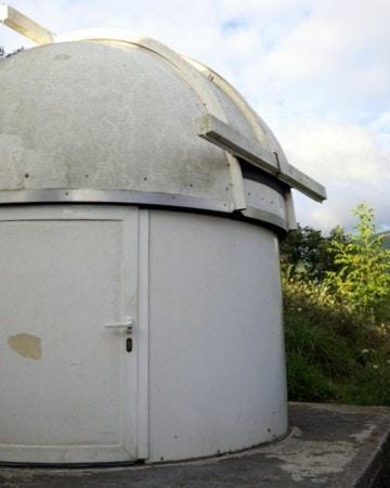 The incredible telescope at Hotel L'Observatoriu in Asturias.