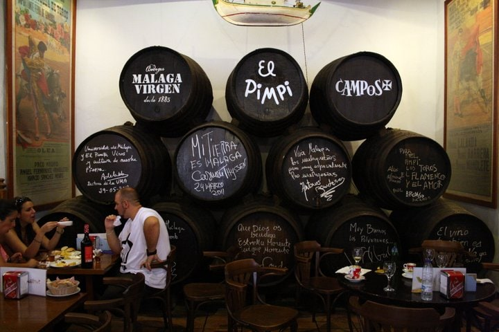 Discover Six Of The Best Wine Bars In Malaga Spanish Sabores