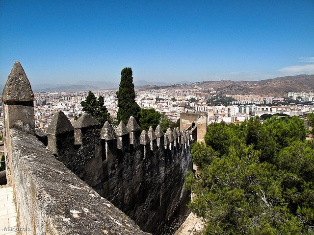 Looking for the best view in Malaga? There are many to be found all over the city.