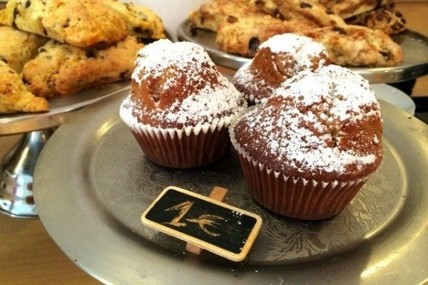 Try the tasty pastries at Julia Bakery in Malaga if you want to know how to eat like a local in Malaga!